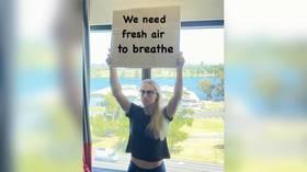 'We need fresh air to breathe': Kazakh ace Putintseva protests strict hotel lockdown ahead of Australian Open