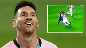Not enough? Rival fans fume as 'golden boy' Messi escapes with two-match ban for flooring opposition player
