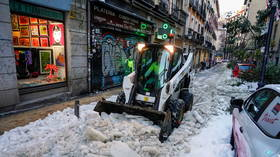 Madrid declared a 'disaster zone' after storm Filomena hammers the Spanish capital