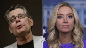 'Insult to working class': Stephen King accused of sexism & classism after saying Kayleigh McEnany should become cocktail waitress