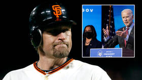 'Trump's president in four months': Baseball champ Aubrey Huff lashes out at Biden and Harris as he claims Democrats control minds