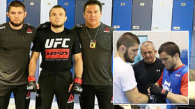 'Father's plan': Khabib's coach reveals key moment when Abdulmanap Nurmagomedov's influence inspired Umar to UFC debut win (VIDEO)