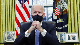 Biden unleashes executive orders aimed at fighting Covid with 100-day 'masking challenge' & vaccine deluge