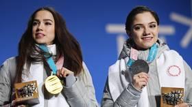 Follow the leader: Ice queen Alina Zagitova edges past Evgenia Medvedeva to become Russia's most popular Instagram figure skater