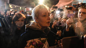 Wife of jailed opposition activist Alexey Navalny arrested while protesting for his release in Moscow (VIDEO)