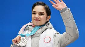 'It's going so much better': Evgenia Medvedeva on kissing puppies, her new food obsession and her return to fitness (VIDEO)