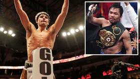 'A dream turned reality': Ryan Garcia teases bout with Manny Pacquiao as Filipino star moves on from McGregor match