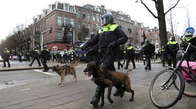 Dutch PM condemns turbulent anti-curfew protests as 'criminal violence', says restrictions will remain in place