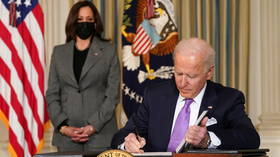 Biden ends contracts with private prisons in series of executive orders on race & 'systemic problems' in criminal justice system