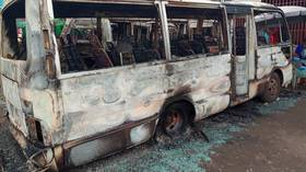 53 dead after blaze engulfs bus and fuel truck in horror Cameroon crash