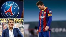 Barcelona presidential hopeful Laporta blasts 'disrespectful' PSG over Messi overtures, threatens FIFA action