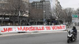 Fan revolt: Marseille football supporters STORM training ground before French club's match with Stade Rennais (VIDEO)