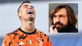 Back to work: Cristiano Ronaldo helps Juventus win after manager Pirlo defends him over police probe into alleged Covid-19 breach