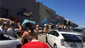 Huge queues, packed stores & empty shelves after Australian city announces 5-day Covid lockdown over single confirmed case
