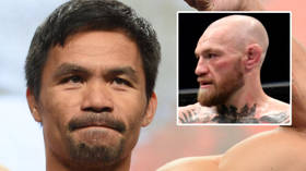 'Losing is part of the game': Manny Pacquiao offers words of support to Conor McGregor following UFC 257 defeat