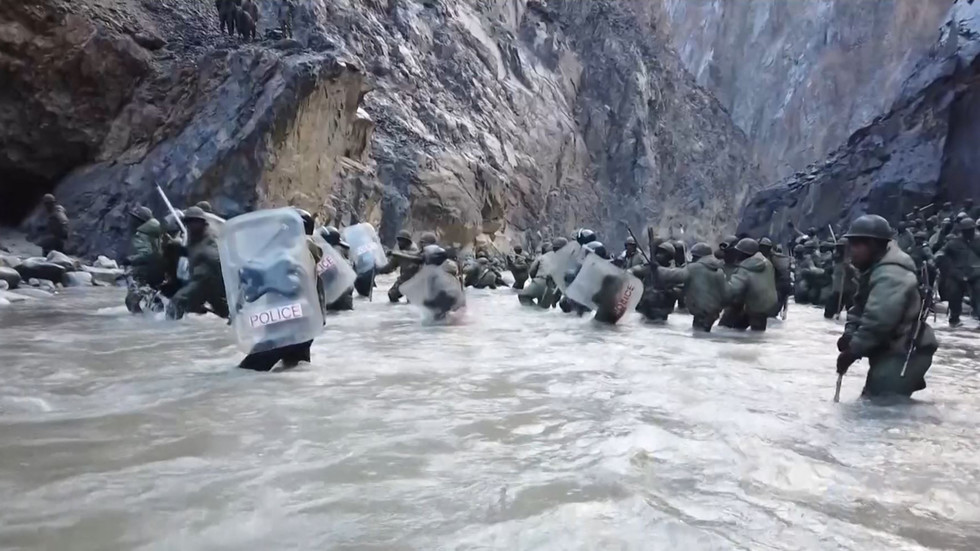 Chinesische Medien veröffentlichen dramatisches Bildmaterial vom tödlichen Grenzkonflikt mit Indien