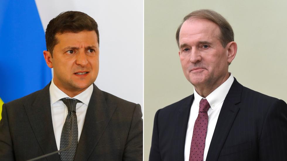 Zelensky wants to establish 'dictatorship' says Ukrainian opposition leader, as Kiev bids to put him behind bars on terror charges
