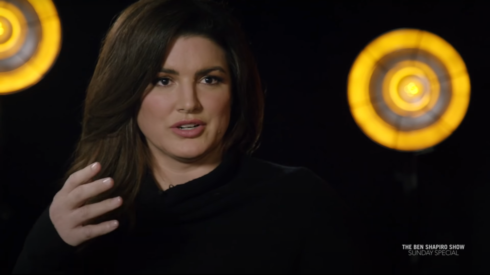 'I'm not going down WITHOUT A FIGHT': Actress Gina Carano vows to overcome cancel mob & 'Disney bullies'