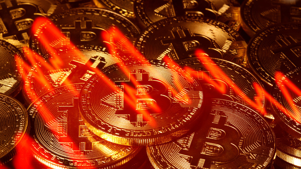 Bitcoin's HUGE daily drop sends cryptocurrency market crashing