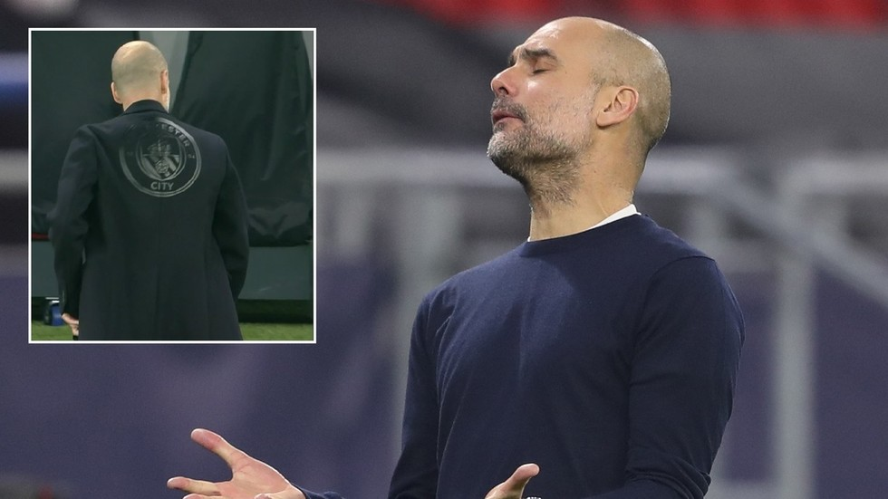 'WTF is he wearing?!' Man City boss Pep Guardiola trolled for ugly fashion faux pas in Champions League clash