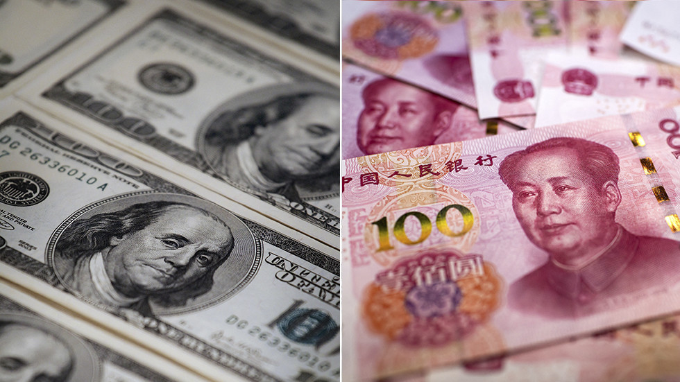 Back off Benjamin: Russia must ditch 'poisonous' US dollar says country's Foreign Ministry as Moscow moves toward Chinese currency