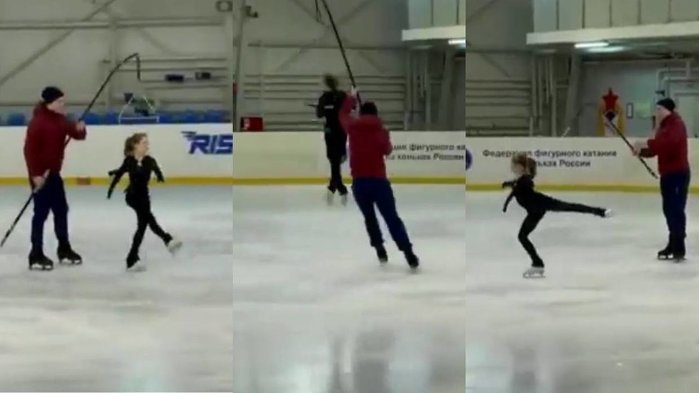 Russian 11yo figure skating prodigy nails QUINTUPLE lutz at training session (VIDEO)