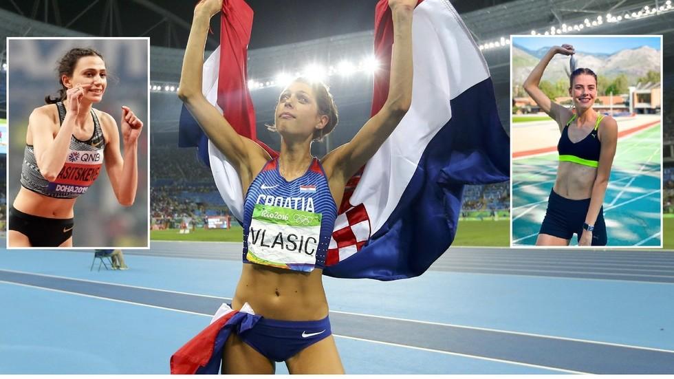 Russia's Lasitskene and Ukraine teen sensation Mahuchikh can beat longstanding high-jump world record, says Croatian icon Vlasic