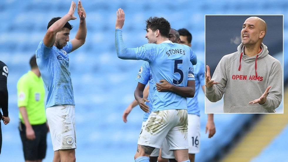 'Unstoppable': Guardiola racks up remarkable personal milestones as Man City win TWENTIETH game in a row