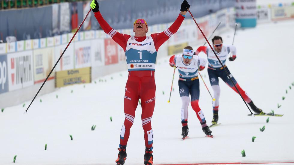 Russian ski star Bolshunov puts 'attack' row firmly behind him to win World Championship gold (VIDEO)