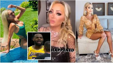 15 minutes of infamy? LeBron James heckler Juliana Carlos – aka 'Courtside Karen' – faces calls to be BANNED from NBA games