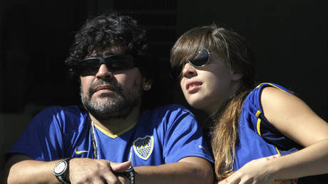 'Fat man is going to die sh*tting himself': Maradona's daughter says she 'vomited' after hearing doctors discuss football legend