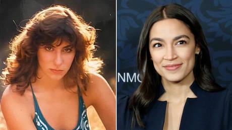 (L) Tara Reade; (R) Alexandria Ocasio-Cortez © Getty Images / Taylor Hill / Contributor