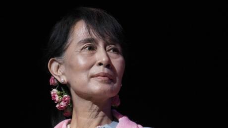 Aung San Suu Kyi. FILE PHOTO.