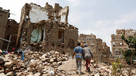 Destruction amid the Yemeni Civil War