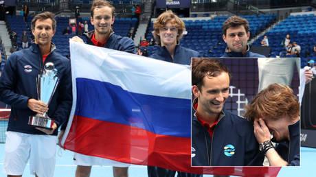 Daniil Medvedev and Andrey Rublev helped Russia win the ATP Cup © Loren Elliott / Reuters | © Asanka Brendon Ratnayake / Reuters
