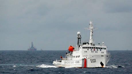 China coastguard vessel (FILE PHOTO) © REUTERS/Nguyen Minh
