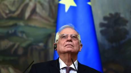 EU High Representative Josep Borrell in Moscow