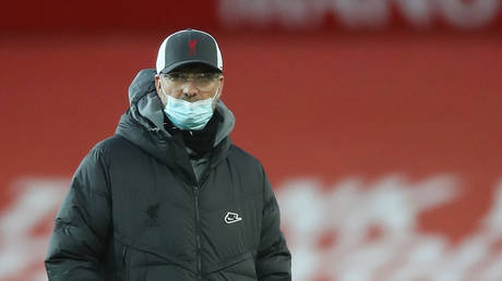 Klopp suffered the loss of his mother at the age of 81. © Reuters