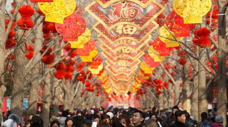 FILE PHOTO: Lunar New Year in Beijing