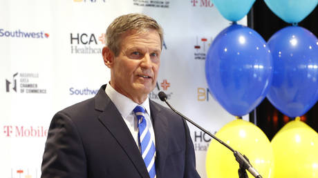 Governor of Tennessee Bill Lee. © AFP