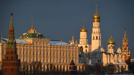 A view shows Kremlin on a cold sunny day in Moscow, Russia. © Sputnik