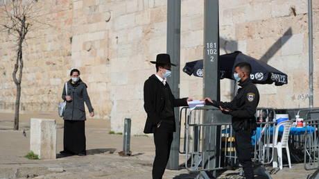 FILE PHOTO: National lockdown in Israel