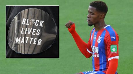 'Why must I kneel down?' Premier League star Zaha calls Black Lives Matter 'degrading' as he slams football's 'tick box' tokenism