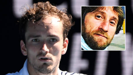 'Can you just let me play?': Medvedev claims coach was 'sure' he would win despite bailing as he suffered Australian Open meltdown
