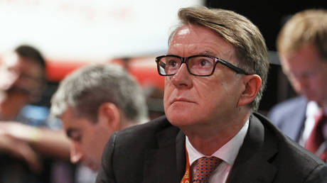 Lord Peter Mandelson attends the annual Labour Party Conference in Brighton, Britain September 28, 2015.