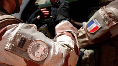 French troops in Africa's Sahel region. © REUTERS/Benoit Tessier