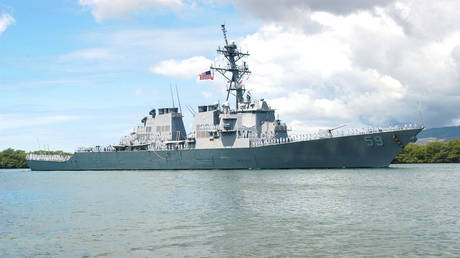 FILE PHOTO: USS Russell