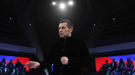 Communist MP wants top Russian TV host prosecuted for calling Hitler a very brave man` in debate about comparisons with Navalny
