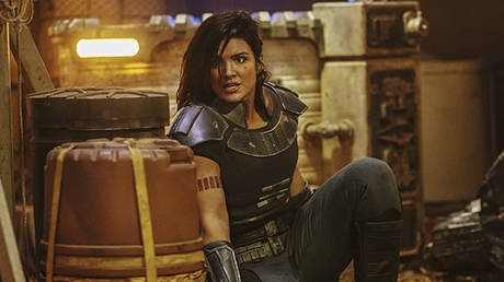 "© Gina Carano in ""The Mandalorian"" / © Lucasfilm Ltd."