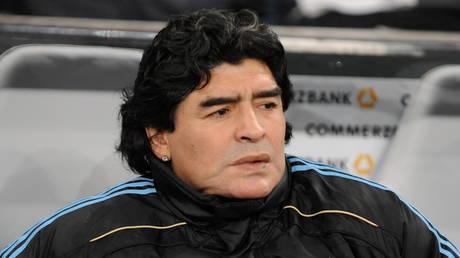 Diego Maradona © Global Look Press / Bernd Weissbrod